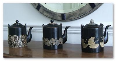 mia wood teapots