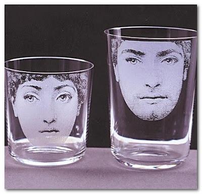 Piero Fornasetti glasses