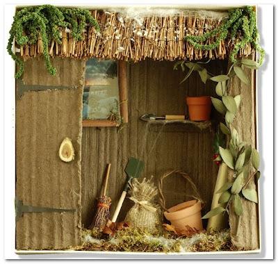 curlicue garden box