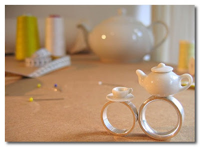teapot and cup rings from XS M L