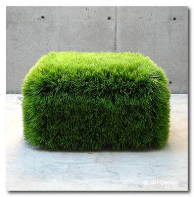 grass garden seat gh design