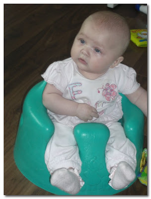mathilda in her bumbo