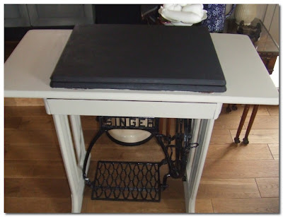 ghost furniture sewing table