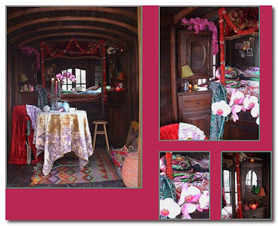 fabulous gypsy caravans and interiors les verdines