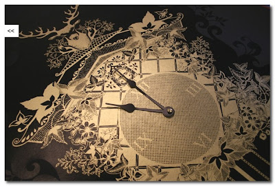 clock wallpaper johanna basford