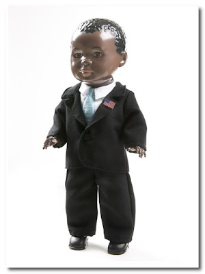 barack obama doll by puppenklinik