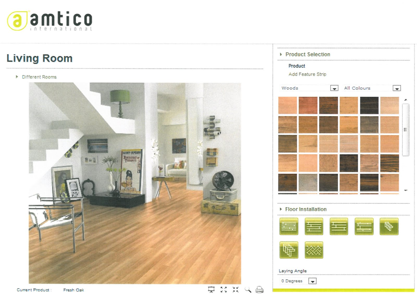 Start to create that dream look for your home with the new room visualiser launched by amtico international
