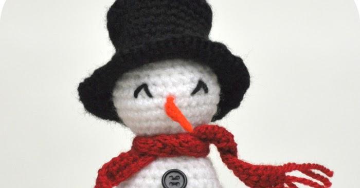 Grietjekarwietjeblogspotcom Haakpatroon Sneeuwpopje