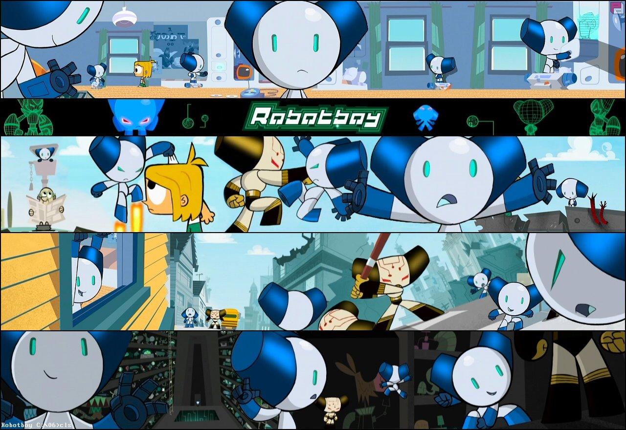 robotboy TOMMY lola turner gus gman moshimo cartoon network anime videos robotgirl