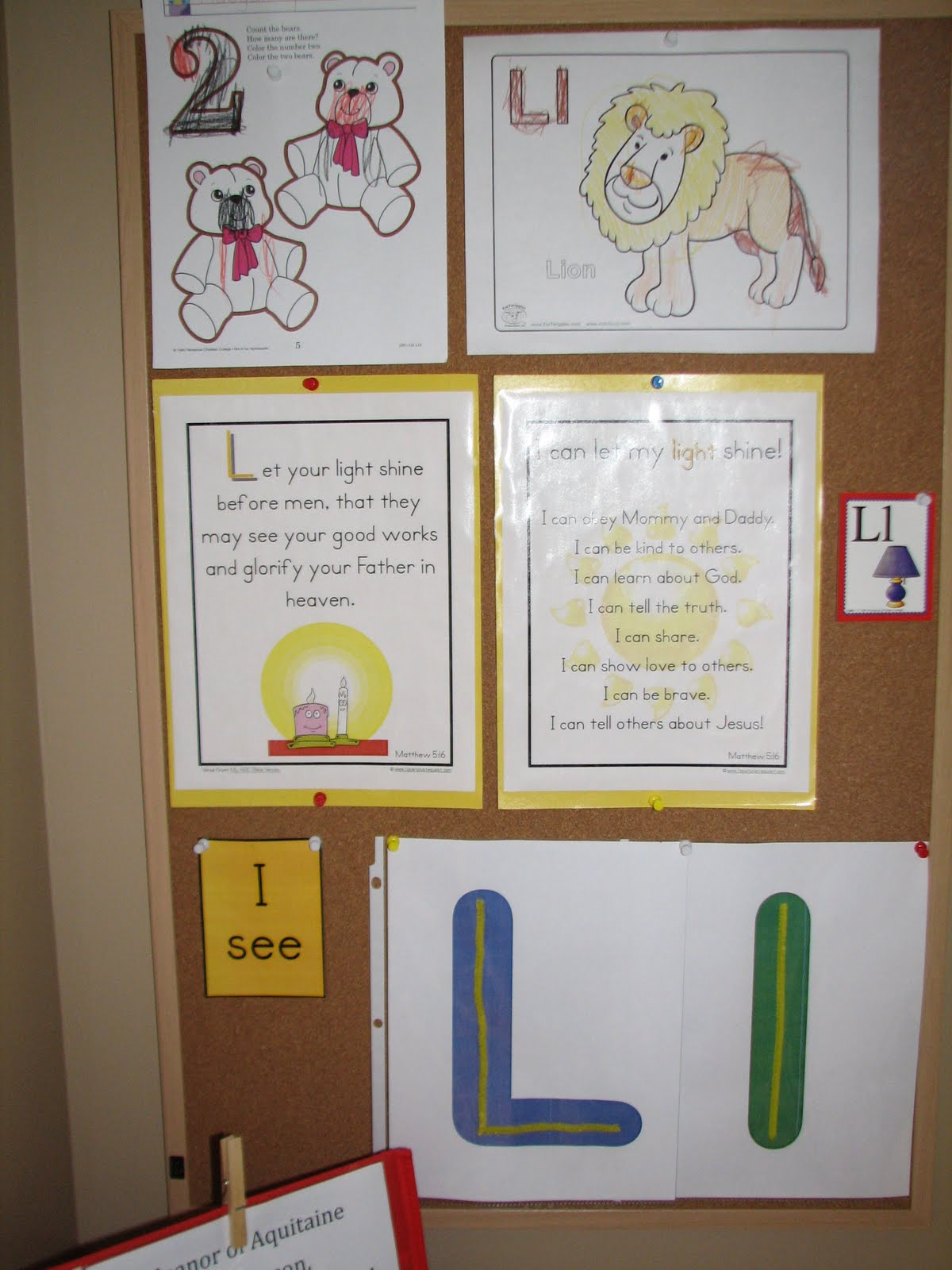 Izzie Mac And Me Preschool Letter L And Shapes