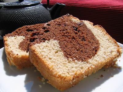 Cake Marbr Ef Bf Bd Chocolat Amande