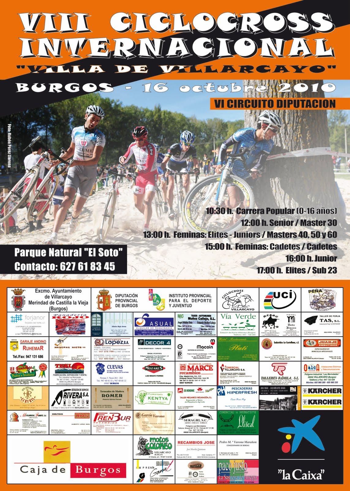 Cartel Ciclocross Internacional Villarcayo