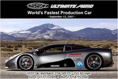 Record de velocidad Ultimate Aero