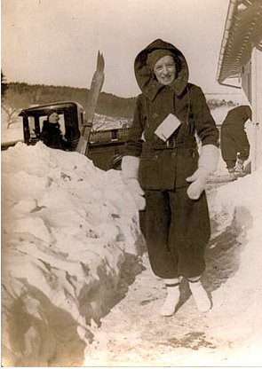 Awesome Adelines Attic Vintage Snow Suits Me Just Fine Hairstyle Inspiration Daily Dogsangcom