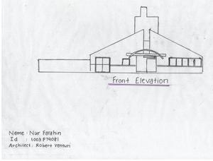o Vanna Venturi House Plan Section Elevation on fisher house elevation, vanna venturi interior, kaufmann house elevation, eames house elevation, vanna venturi sections dimensions, tugendhat house elevation,