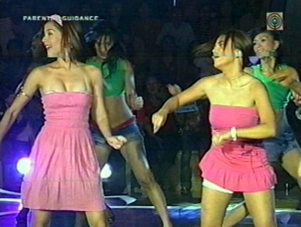 Pinay celebrity nip slip