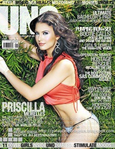 UNO Magazine Features Priscilla Meirelles