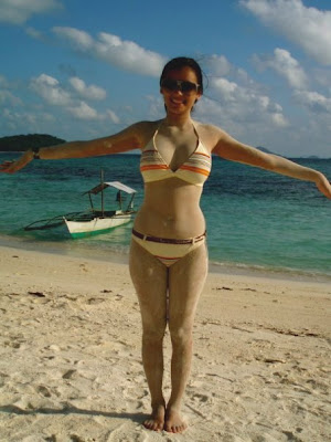 in nervous bikini madrigal Michelle