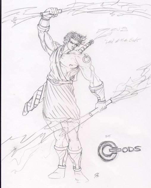 Zeus - King of the Olympians