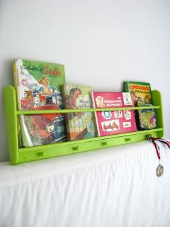 Dreams and Wishes: Space saving book storage.