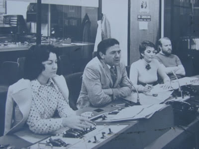 Jim O'Hare (far right) at RTE