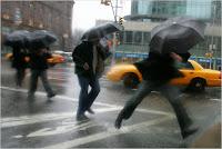 Record de pluie depuis 1882: 192mm en 24h sur NYC!