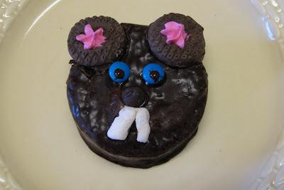 ground hog day cookie