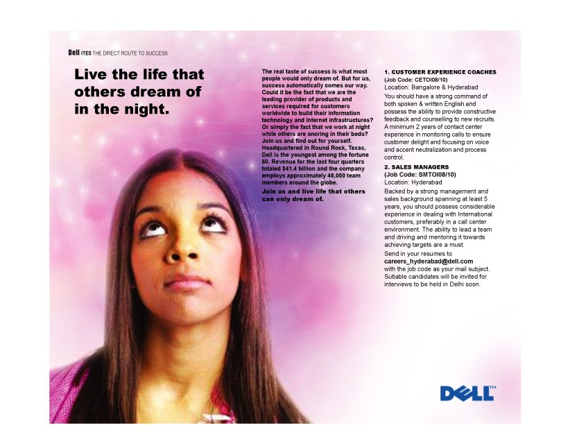 dell ad campaign essay Comparative advertising or advertising war is an the ad, daisy, was was produced by lyndon b johnson's campaign in an attempt to prevent goldwater from.