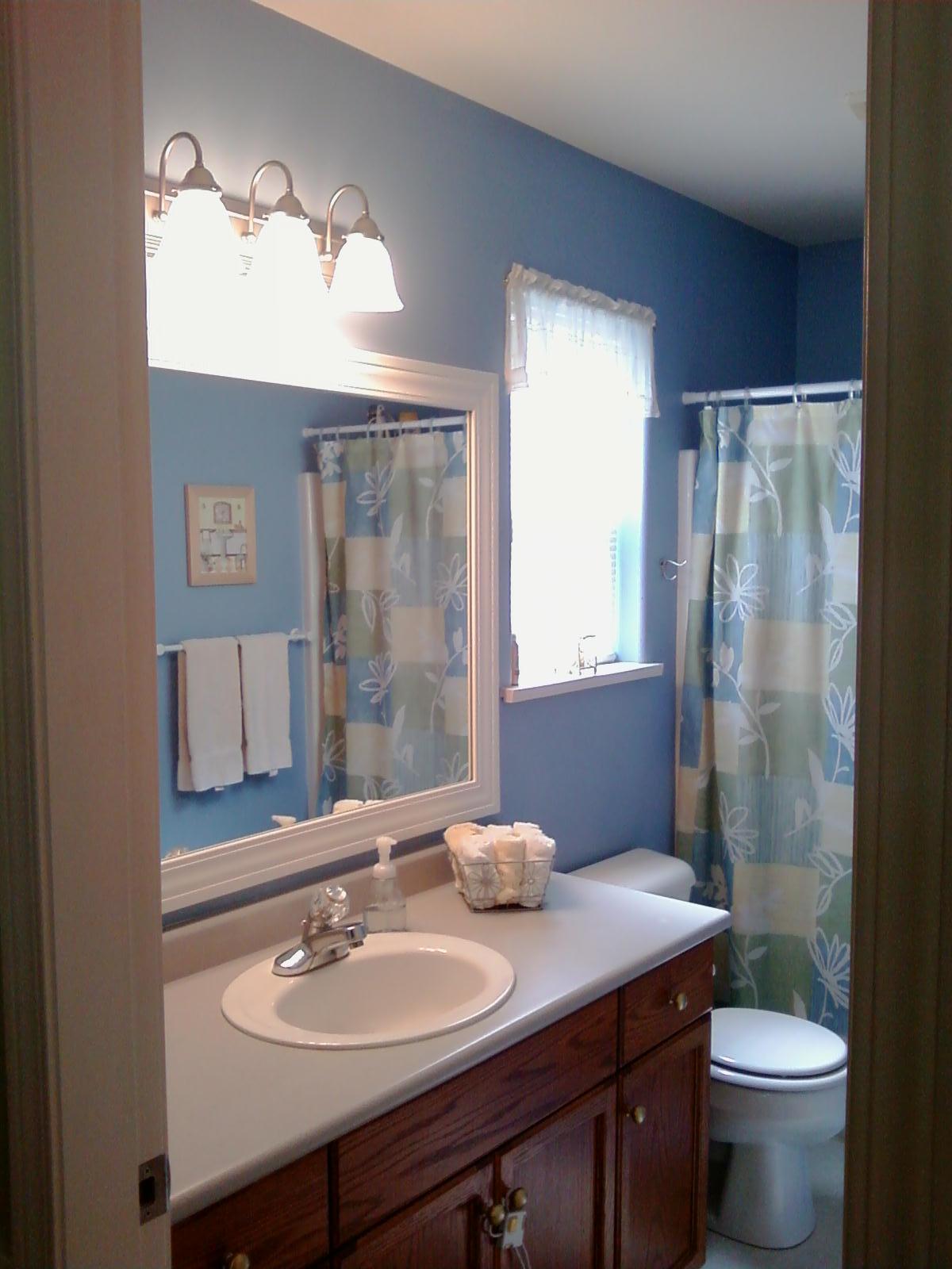 This Thrifty House: Framed Bathroom Mirror