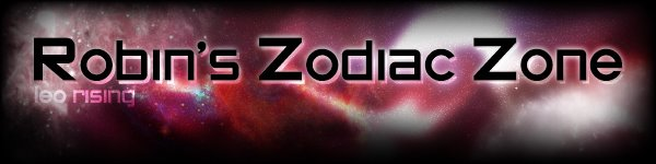 Robin's Zodiac Zone Weekly Astrology