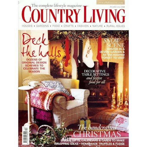 Papergrain: Country Living Magazine December 2009