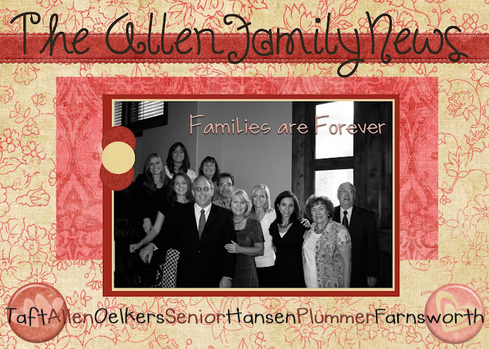 Allen Family Newsletter