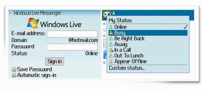 Windows Live Messenger Client for BlackBerry