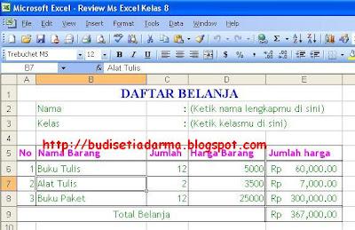 Mhia Rustam Blog Praktik Kumpulan Latihan Praktik Microsoft Excel