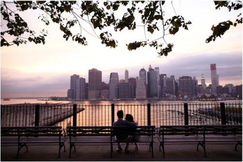 Manhattan Skyline Engagement Shoot