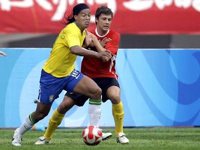 Foi assim a estréia da seleção brasileira masculina de futebol nos Jogos  Olímpicos  nesta quinta c5585ce7d515a