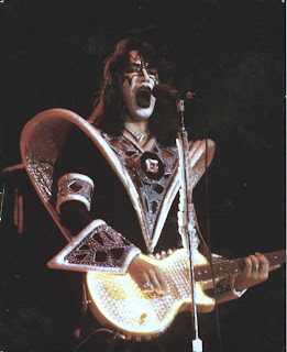 Look Me In The Eye Ace Frehley Playing One Of My Kiss Guitars