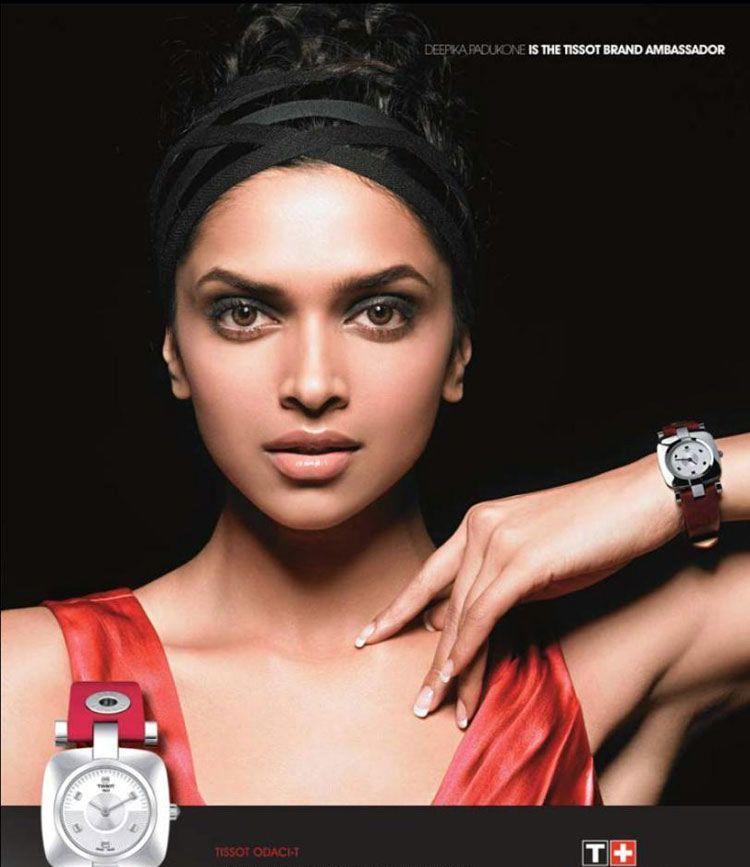 Deepika Padukone | new brand ambassador of TISSOT watches ...