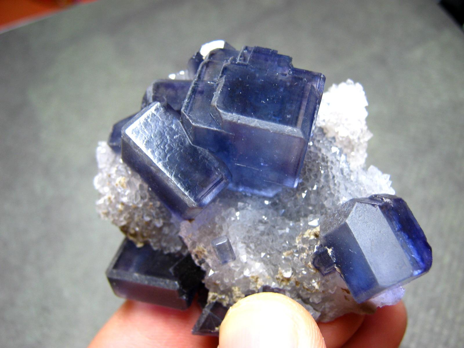 Colecciones minerales y piedras preciosas