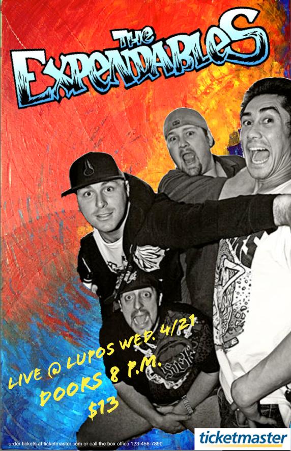 COMM 240: Concert Poster