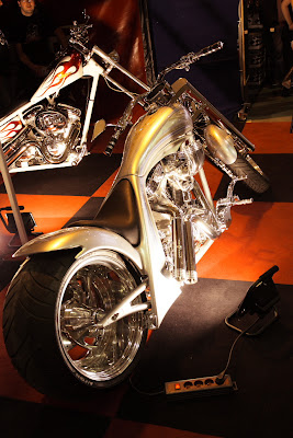 Prague - Motorcycle show 2008 at Holesovice