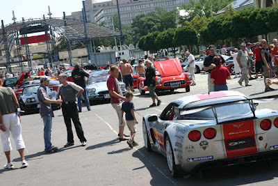 7th International Corvette meeting in Prague