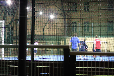 Night soccer at Mala Stupartska