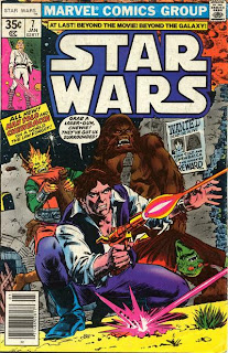 Nearly every story features Chewie totally kicking the crap out of alien goons.