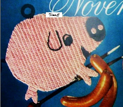 Free Piggy Hat Crochet Pattern ~ Amigurumi crochet patterns ~ K