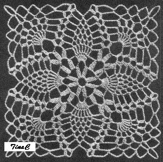 Totally Free Crochet Pattern Blog - Patterns: Pineapple ...