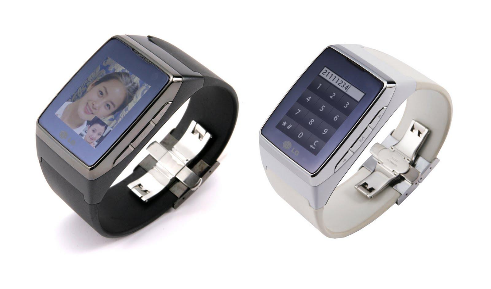 Watches: Wrist watch phone LG GD910.