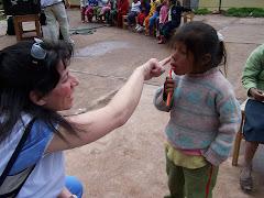 Peru - Brushing Teeth!
