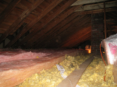 At Home With H How To Insulate Your Attic