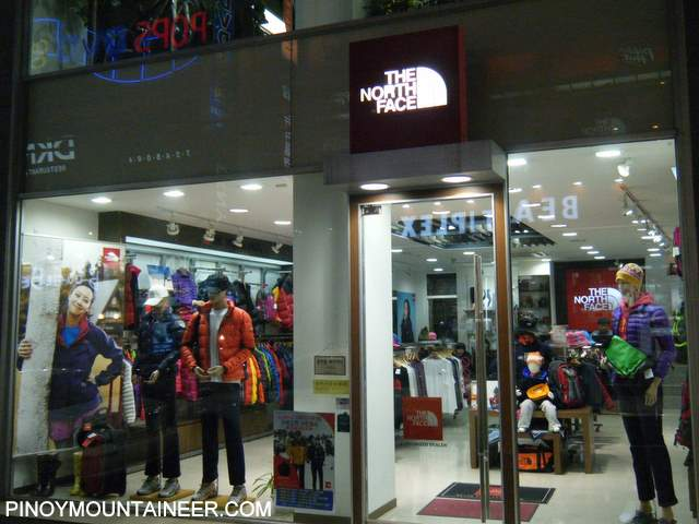 Hiking matters #99: Korea is shopping paradise for hikers - Pinoy